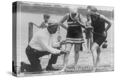 Short Swimsuits - Pewaukee Lake, Wisconsin - Vintage