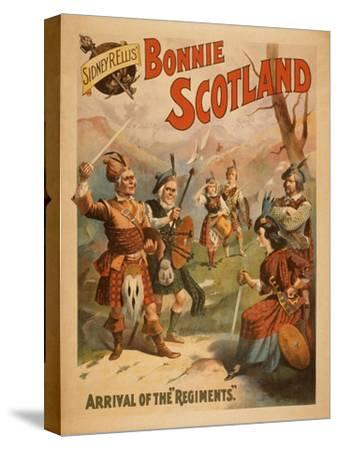 Sidney R. Ellis' Bonnie Scotland Scottish Play Poster No.3
