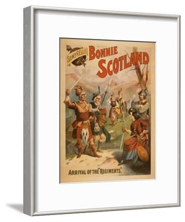 Sidney R. Ellis' Bonnie Scotland Scottish Play Poster No.3