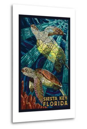 Siesta Key, Florida - Sea Turtle - Mosaic