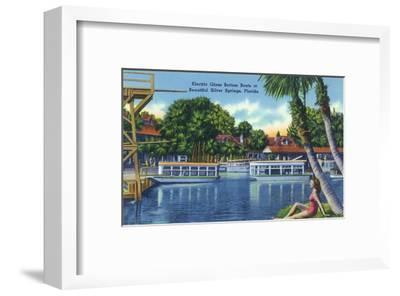 Silver Springs, Florida - View of Electric Glass Bottom Boats