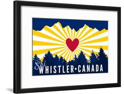Ski Whistler, Canada - Heart and Treeline