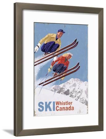 Ski Whistler, Canada - Vintage Skiers