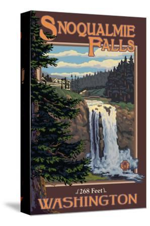 Snoqualmie Falls by Day, Washington