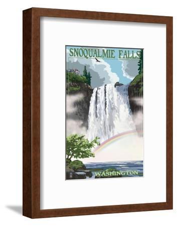 Snoqualmie Falls, Washington - Summer Scene