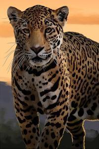 Solo Jaguar by Lantern Press