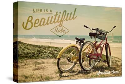 Sonoma Coast, California - Life is a Beautiful Ride - Beach Cruisers