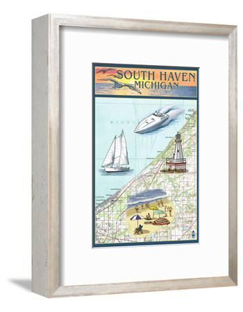 South Haven, Michigan - Nautical Chart