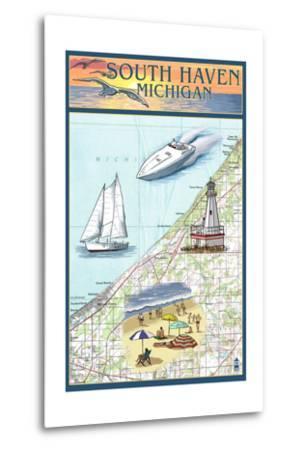 South Haven, Michigan - Nautical Chart