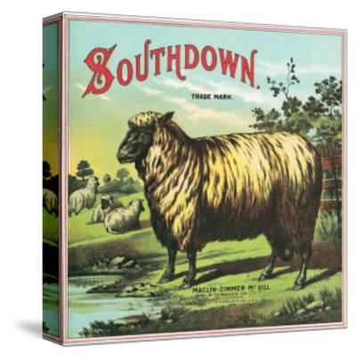 Southdown Brand Tobacco Label