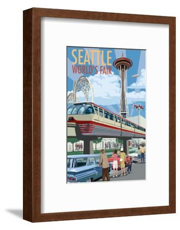 Space Needle Opening Day Scene - Seattle, WA