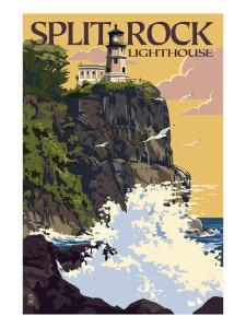 Split Rock Lighthouse - Minnesota by Lantern Press