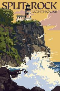 Split Rock Lighthouse - Minnesota by Lantern Press
