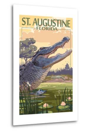 St. Augustine, Florida - Alligator Scene
