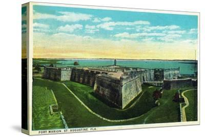 St. Augustine, Florida - Panoramic View of Fort Marion