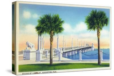 St. Augustine, Florida, View of the Bridge of Lions