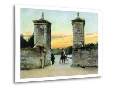 St. Augustine, Florida - View of the Old City Gate