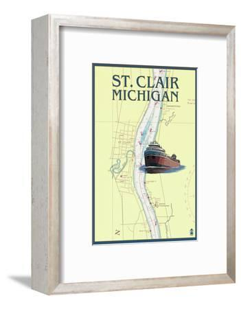 St. Clair, Michigan - Nautical Chart