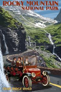 Stanley Steamer - Rocky Mountain National Park by Lantern Press