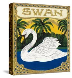 Swan Brand Cigar Box Label by Lantern Press