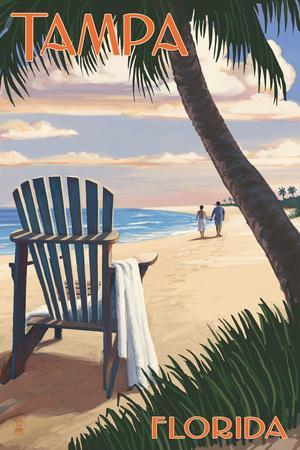 Carolina Porch by Daniel Pollera Art Print Seascape Ocean Beach Poster 26x38