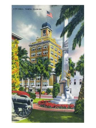 Tampa, Florida - City Hall Exterior View