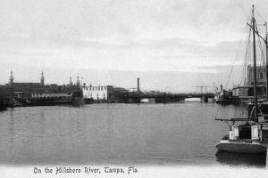 Tampa, Florida - Hillsboro River Scene by Lantern Press