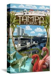 Tampa, Florida - Montage by Lantern Press