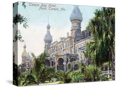 Tampa, Florida - Tampa Bay Hotel Entrance View