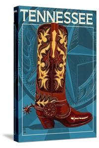 Tennessee - Boot by Lantern Press