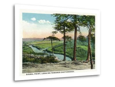Tennessee - View of Chattanooga from Signal Point