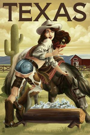 Texas - Cowgirl Pinup
