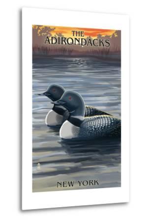 The Adirondacks, New York State - Loons at Sunset