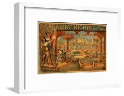 The Arabian Nights - Aladdin's Wonderful Lamp Poster