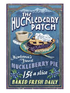 The Huckleberry Patch, Montana by Lantern Press