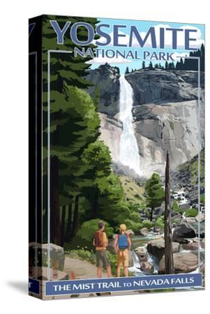 The Mist Trail - Yosemite National Park, California