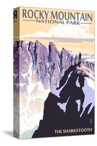 The Sharkstooth - Rocky Mountain National Park by Lantern Press