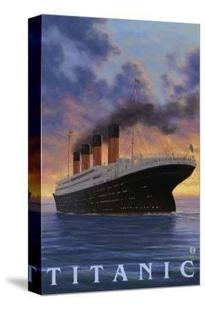 Titanic Scene - White Star Line