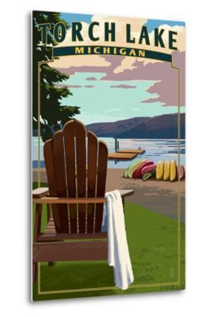 Torch Lake, Michigan - Adirondack Chairs