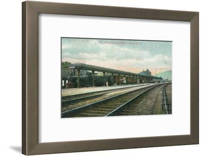 Towanda, Pennsylvania - Lehigh Valley Railroad Station