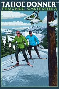 Truckee, California - Tahoe Donner by Lantern Press