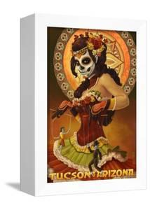 Tucson, Arizona - Day of the Dead Marionette by Lantern Press