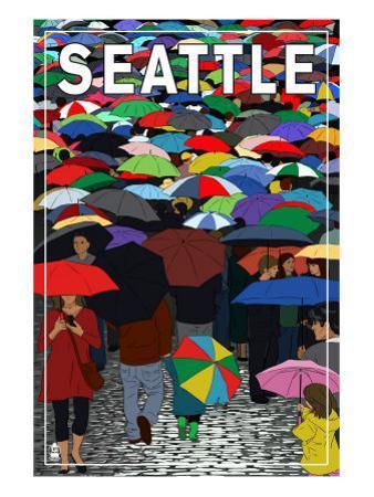 Umbrellas - Seattle, WA, c.2009