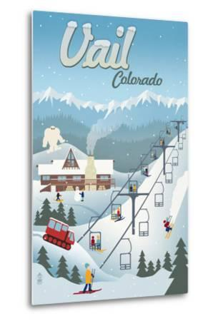 Vail, Colorado - Retro Ski Resort
