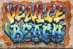 Venice Beach, California - Graffiti by Lantern Press