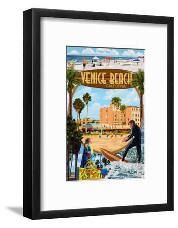 Venice Beach, California - Montage Scenes