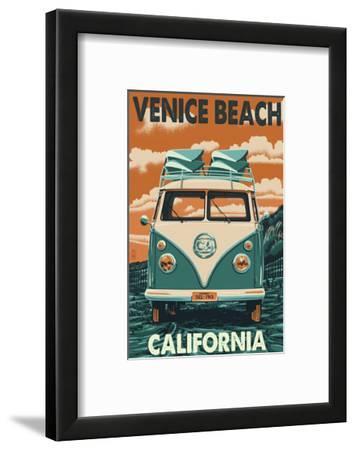 Venice Beach, California - VW Van