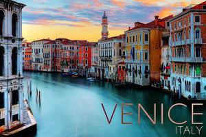 Venice, Italy - Canal View by Lantern Press