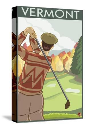 Vermont - Golfing Scene