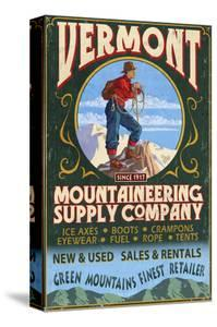 Vermont - Mountaineering Supply Company by Lantern Press